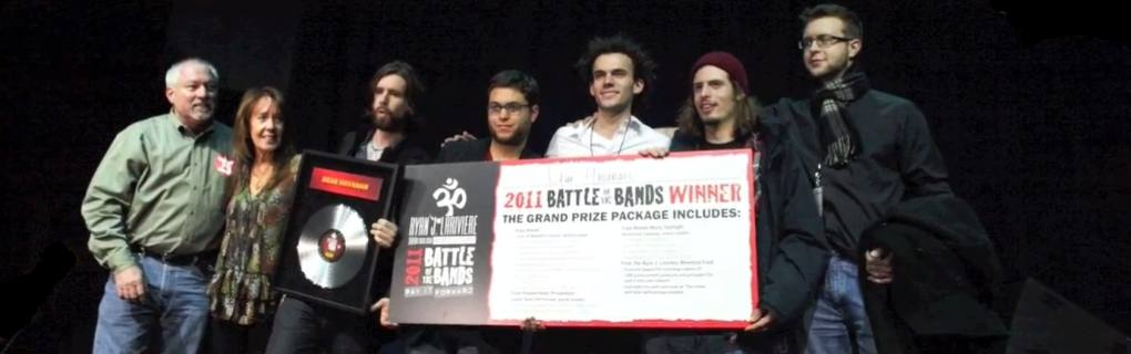 presenting the winners